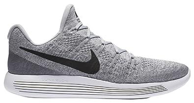 outlet store c3381 e1624 Nike Lunarepic Low Flyknit 2, Chaussures de Running Compétition Homme, Gris  Grau, 41