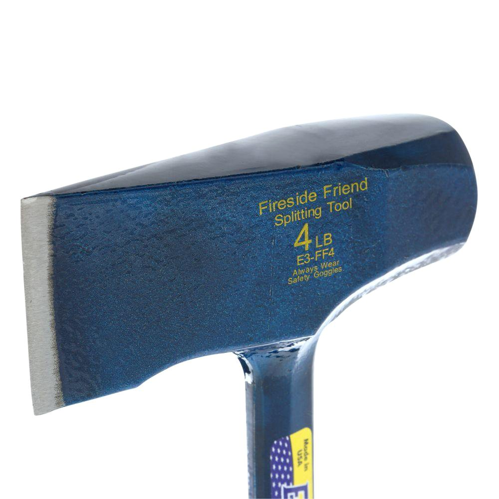 Estwing EFF4SE 4-Pound Special EditionFireside Friend Wood Splitting Axe//Maul with Shock Reduction Grip
