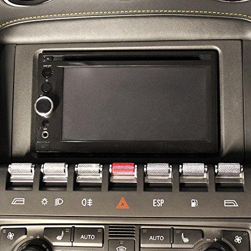 7 Piece Performance Set of Center Console Control Aluminum Switch Covers Replacement for Lamborghini Gallardo 401941567