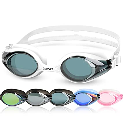 ac6576db73c Amazon.com   COPOZZ Kids Swimming Goggles