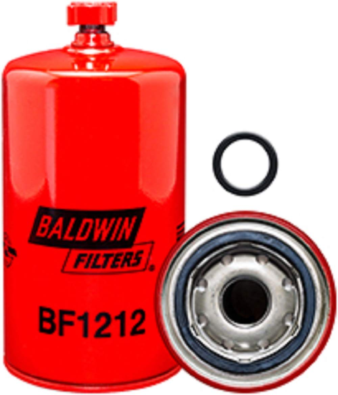 Amazon.com: Baldwin BF1212 Heavy Duty Diesel Fuel Spin-On Filter: Automotive