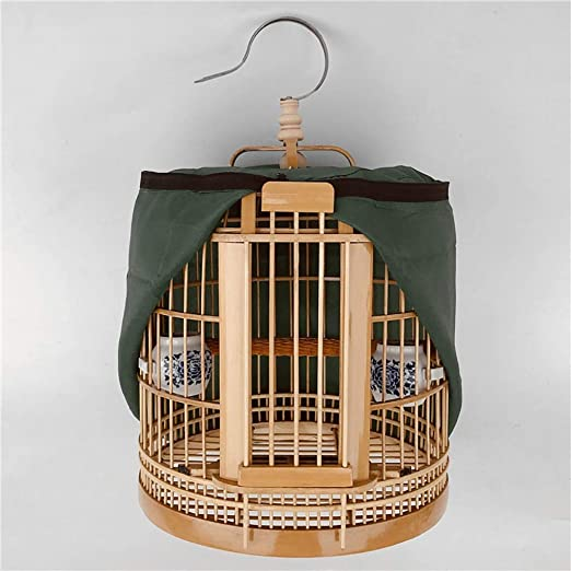 Mejoramiento de la jaula de pájaros interior Colector de semillas ...