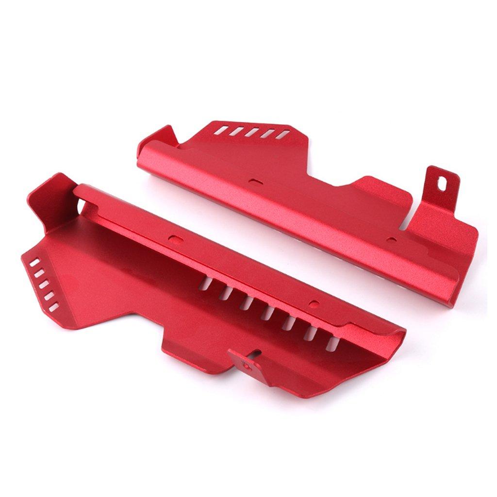 FZ07 KESOTO Protecciones Laterales Del Protector De La Rejilla Del Radiador Para Yamaha MT07 rojo