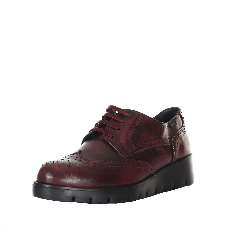 Callaghan Haman, Zapatos de Cordones Oxford para Mujer 37 Burdeos