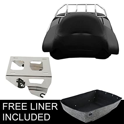 Carpet Liner For Harley Touring Road Street Glide 97-13 Fashionable In Style; King Tour Pak Pack Trunk