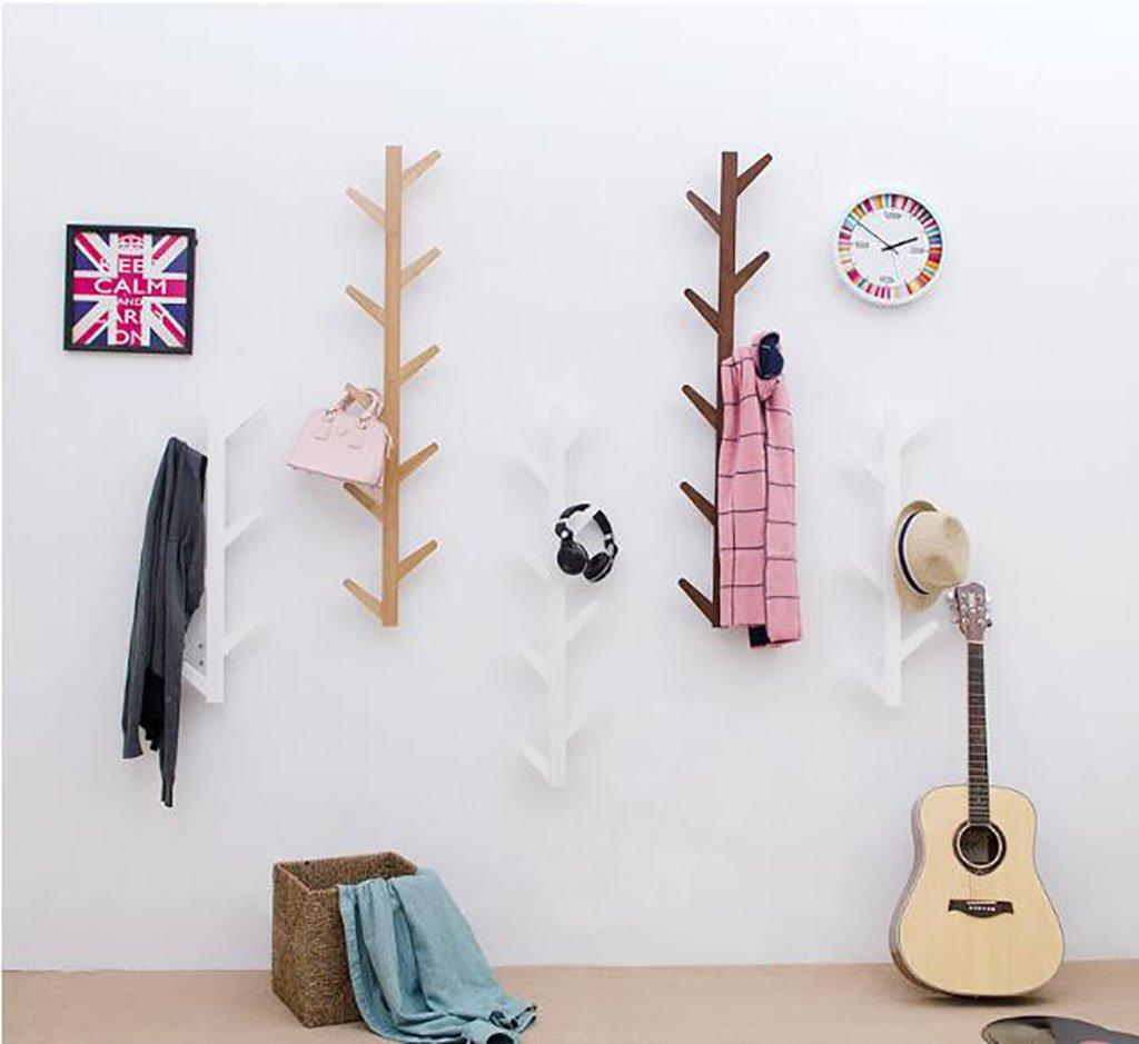 Ymj Coat Rack Garment Hanger Creative On The Wall Solid Wood Hook Hanger Bedroom Wall Living Room Wall Hanger Drying Racks (Color : B, Size : 72278cm) by Ymj (Image #4)