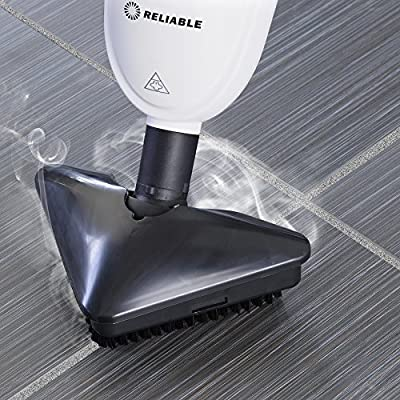 Reliable Steamboy 300CU 3-in-1 Steam and Scrub Mop, 1500W, Fast Heat-up, 2.4 Cup Water Capacity, Heavy-Duty Tile Scrubber, Carpet Hardwood Laminate Steam Mop Include 2 Extra Replacable Microfiber Pads