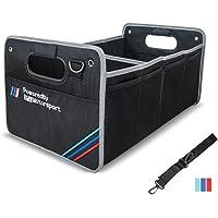 YUYOOO Car Trunk Organizer Collapsible Portable Waterproof Multipurpose Storage Box for BMW M X1 X2 X3 X5 Sedan SUV…