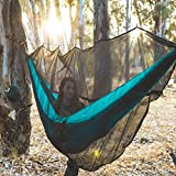 Hammock Bug & Mosquito Net - 360 Degrees of Portable Insect Protection for Backpacking & Camping. Netting Fits Nearly All Outdoor Double & Single Hammocks
