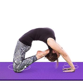 Esterilla de yoga NBR para principiantes, gruesa ...