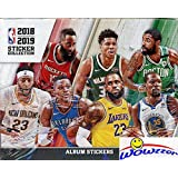 2018/19 Panini NBA Basketball MASSIVE Factory Sealed Sticker Box with 50 Packs & 250 Brand New MINT Stickers! Look for Stickers of Lebron, Curry, Durant, Mitchell & of all your Favorite Stars! WOWZZER