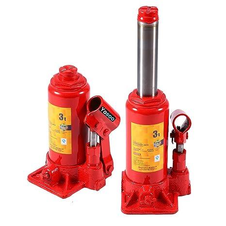 Gato hidráulico (3T, Hydraulic Bottle Jack – Gato hidráulico de botella palanca de vehículo