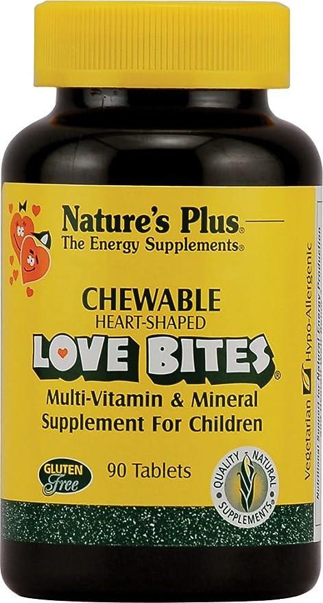 Love Bites Masticables (Sabor Piña) 90 comprimidos masticables de Natures Plus