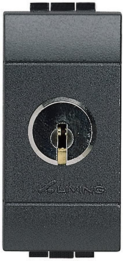 Bticino Living International L4012 Interruttore Bipolare 1 Modulo 16A Con Chiave