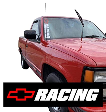 Amazon Com Chevy Racing Decal Sticker Chevrolet 1500 Window