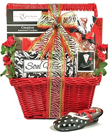 Amazon Com For My Soul Mate Valentines Day Gift Basket For Women
