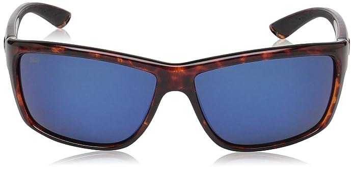 Costa Del Mar Mag Bay Sunglasses, Tortoise, Blue Mirror 580P Lens