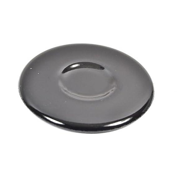 Spares2go Auxillary negro tapa de quemador para Indesit ...