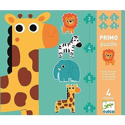 DJECO in The Jungle Progressive Jig Saw Puzzle: Toys & Games