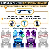 SKITCH Complete Skateboard Gift Set for All Ages