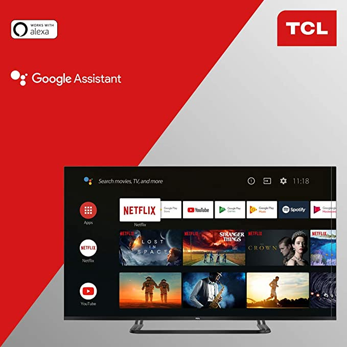 TCL EP680, Televisor, 1, Multicolor, 50 Inch