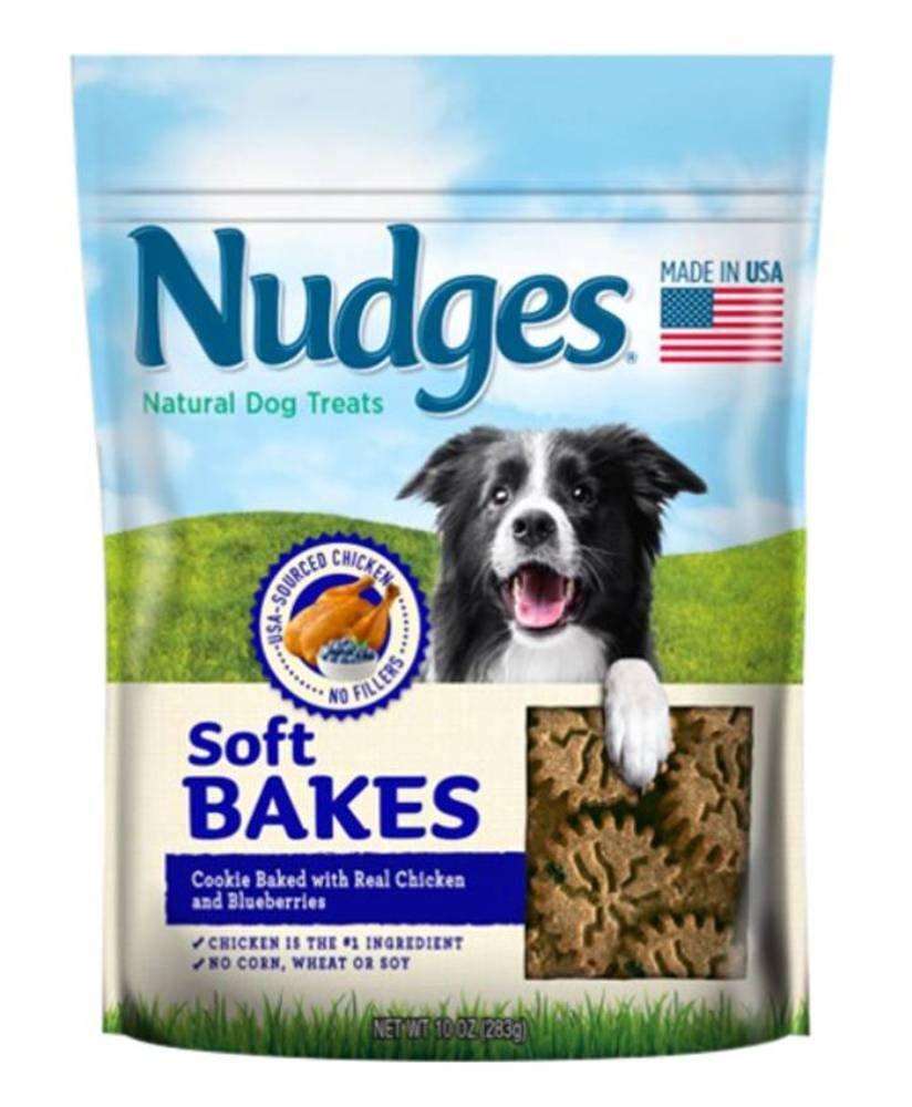 Nudges Soft Bakes Dog Treats 10 oz. 3 Pack blueeberry