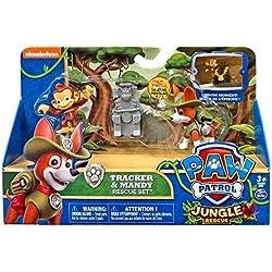 Paw Patrol Tracker & Mandy Jungle Rescue Set