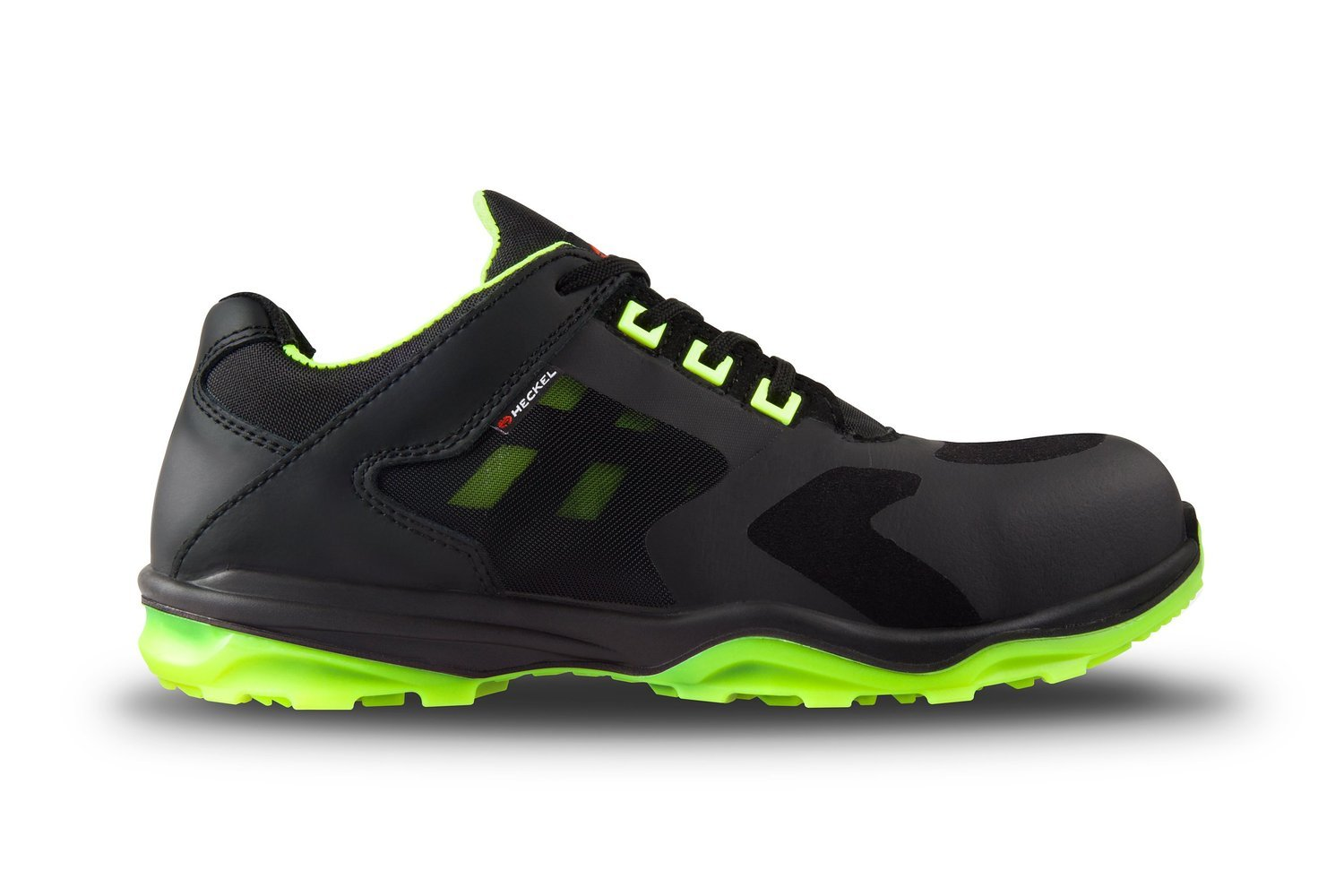 Heckel RUN-R ACE S1P Zapatillas de seguridad, sin metal, muy ligeras, varias tallas disponibles, color verde, talla 41: Amazon.es: Amazon.es