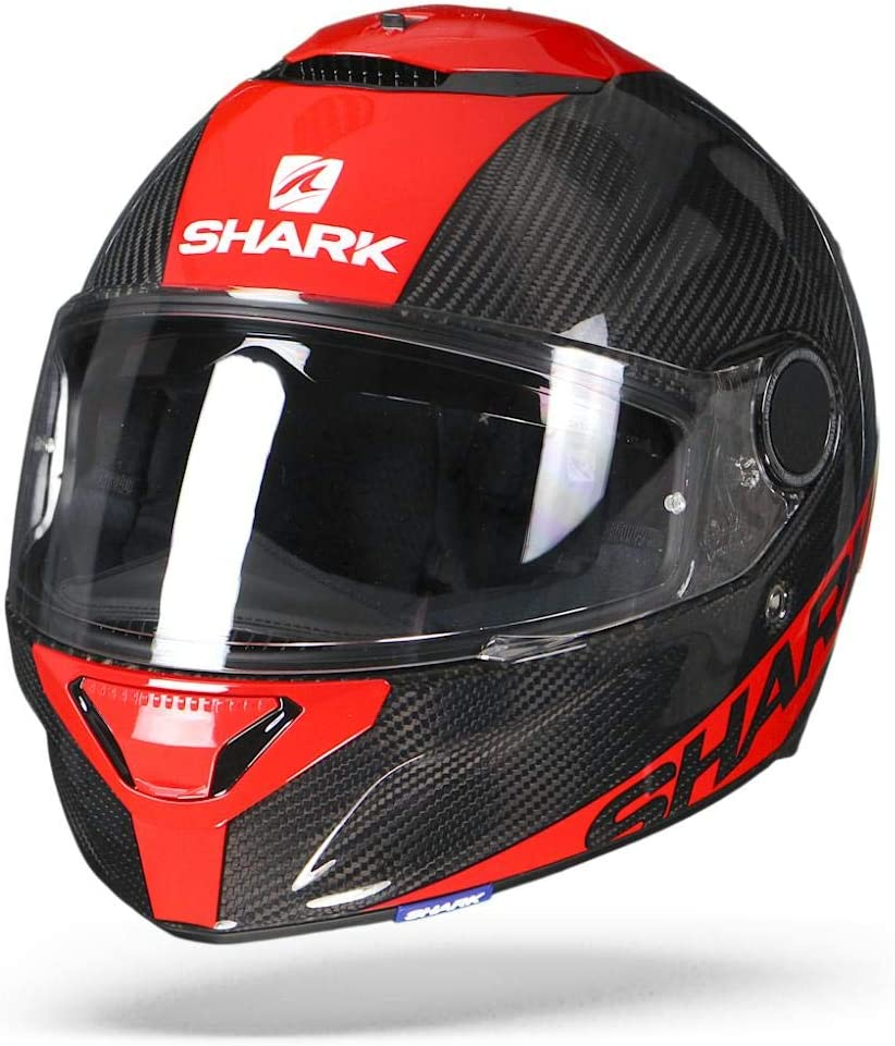 M Motorcycle helmets Shark SPARTAN CARBON 1.2 SKIN DWS Noir//Blanc