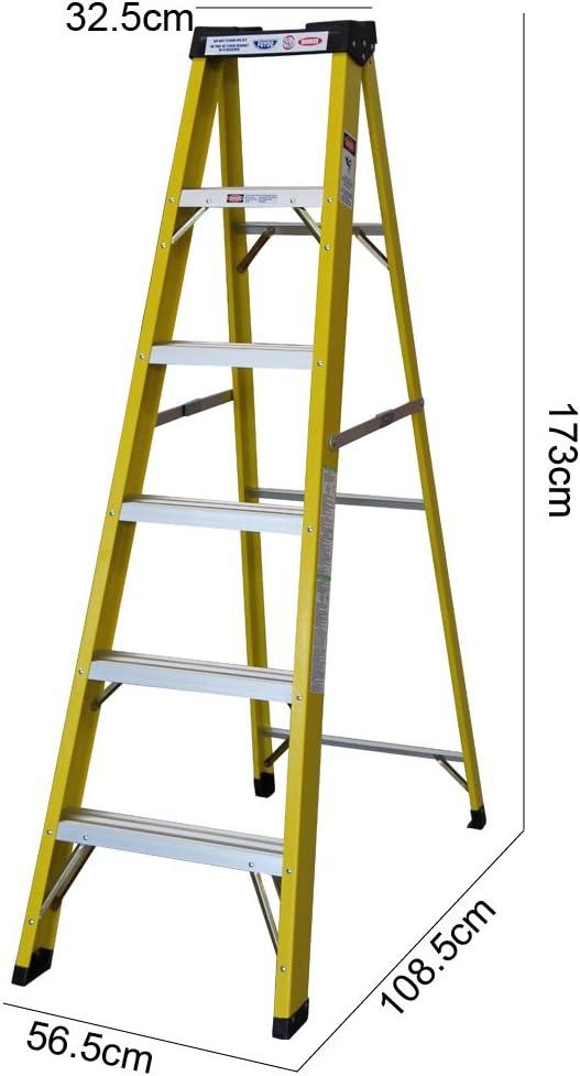 Escaleras de fibra de vidrio (5 pasos): Amazon.es: Bricolaje y herramientas