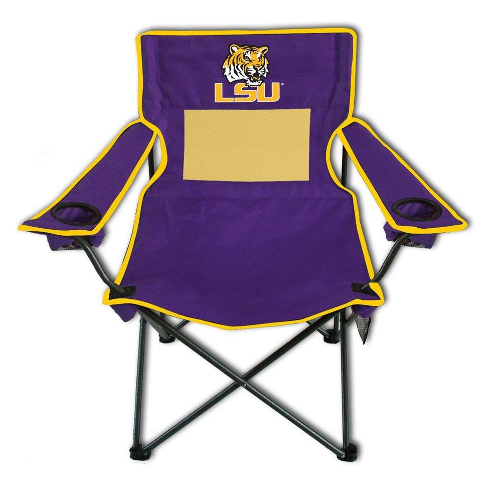 Camping Chair LSU Tigers Deluxe Arm Chair