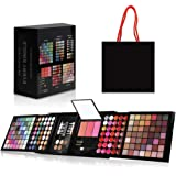 Hotrose Full 177 Color Eyeshadow Palette Blush Lip Gloss Concealer Kit Beauty Makeup Set,All-in-One Makeup Kit with Mirror, A