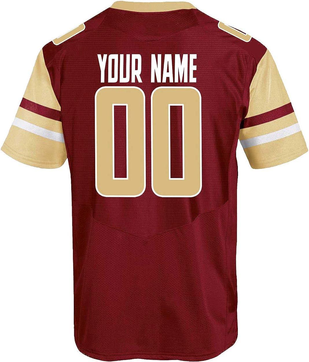 Amazon.com: Custom Boston College Eagles Football Replica Jersey ...