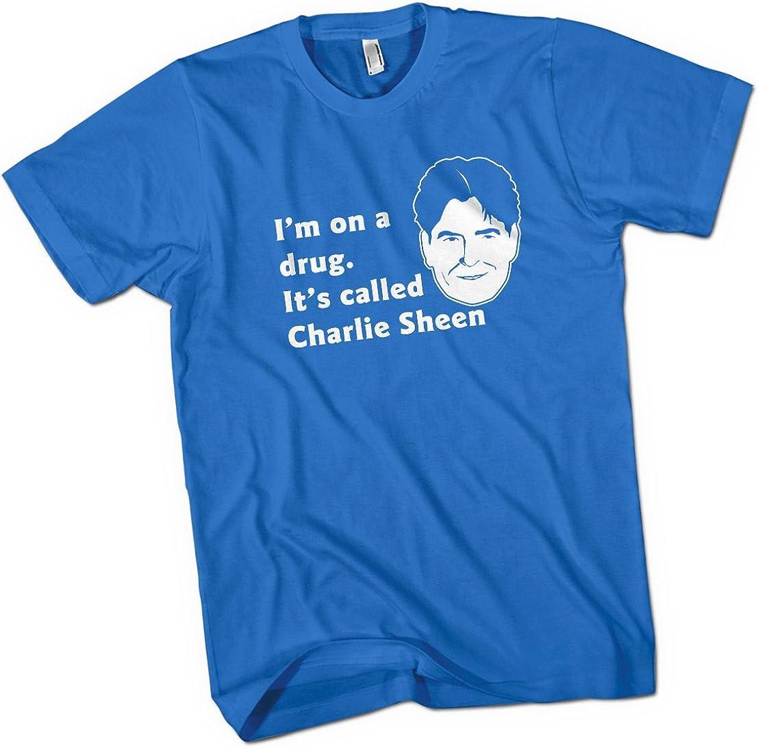 Charlie Sheen I m On A drogas para hombre Premium camiseta elección de 15 colores pequeña a 3 X L: Amazon.es: Ropa y accesorios