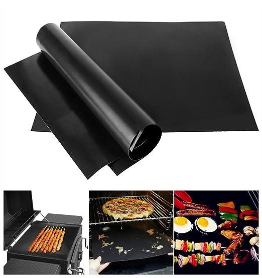 Barbacoa MAT | 3 piezas Hornear Pad Mat para barbacoa de carbón ...