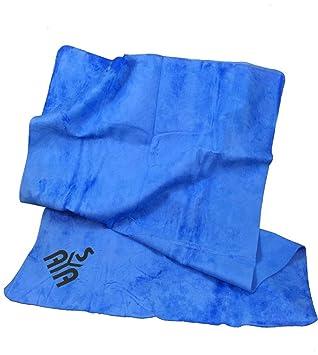 YISAMA Toalla De PVA Chamois Perfecta Para Deportes Acuaticos, Camping, Pesca Solo Escurrir Y Secar De Nuevo Empaque Flexible 43x66 Color Azul: Amazon.es: ...