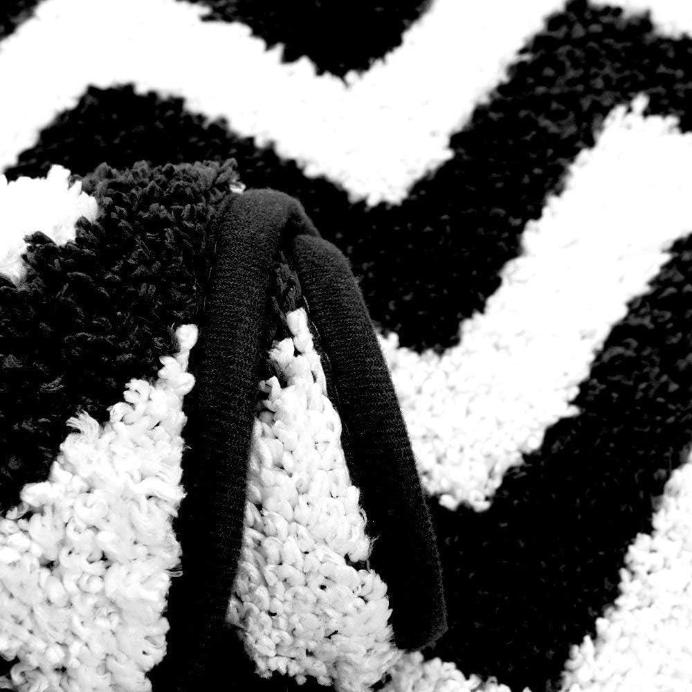 Caff/¨/¨ Carvapet 2 Pezzi Tappeti Cucina Antiscivolo Tappeti per Cucina Lavabile Tappeto Chevron in Microfibra Antiscivolo Tappeti Bagno Zerbino Tappeto Cucina Passatoia