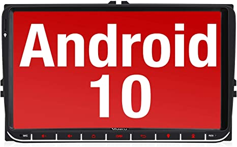 Vanku Android 10 Autoradio Für Vw Radio Mit Navi 9 Zoll Elektronik