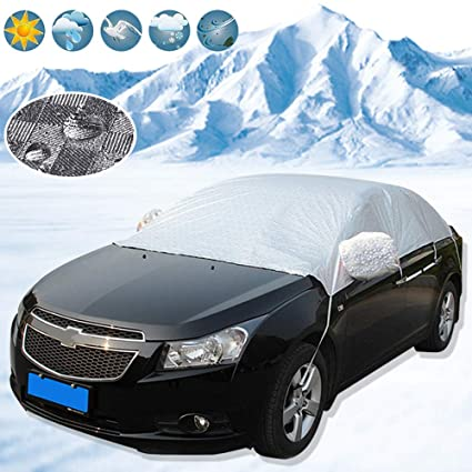 Car Cover Windscreen Anti Shade Frost Ice Snow Protector UV Protection Silver