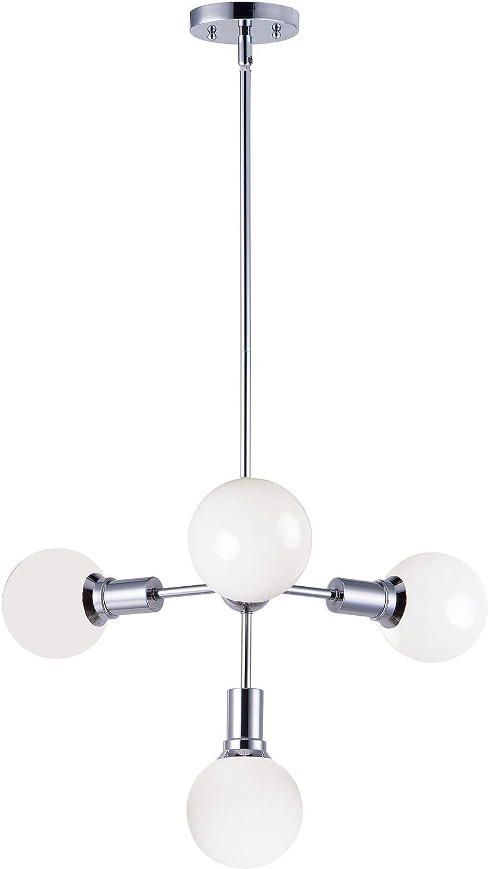 Amazon.com: Maxim Lighting 11344PC Molecule - Lámpara de ...