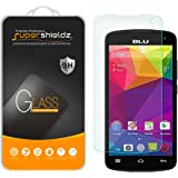 "[2-Pack] Supershieldz for BLU Studio X8 HD 5.0"" Tempered Glass Screen Protector, Anti-Scratch, Anti-Fingerprint, Bubble Free, Lifetime Replacement Warranty"