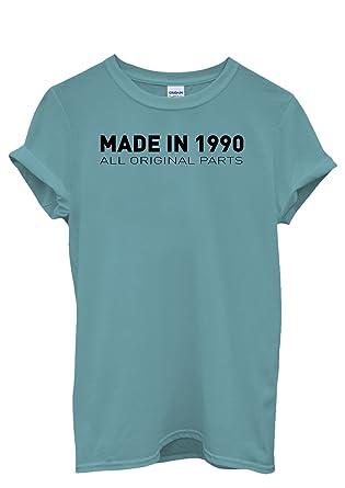Amazon.com: Made in 1990 All Original Parts Men Women Unisex ...