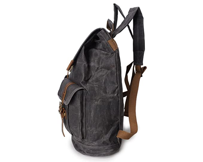 23bb4e242f32 Amazon.com: Shengjuanfeng Men's Shoulder Bag Oil Wax Canvas Outdoor ...