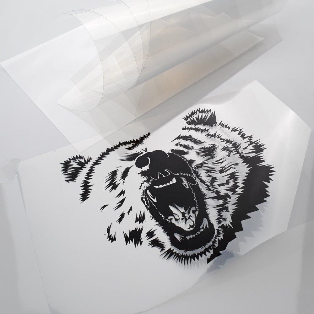 Crafty ordenador papel microporosa película para inyección de ...