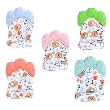 Affe 1/pares Fashion New Cute Cartoon Baby Guantes guantes de invierno infantil ni/ños manoplas antiara/ñazos suave de beb/é rosa rosa