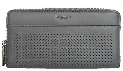 3e4cc79f8c9d Amazon | [コーチ] COACH メンズ ジップ長財布 F58104 FDN パーフォレー ...
