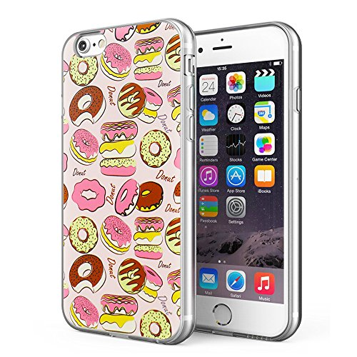iPhone 6 Plus / iPhone 6S Plus Case, Litech™ [FlexFit] Premium Shock-Absorption Artistic Series (Donut 1)