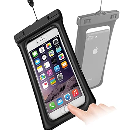 7132bcaff15 Funda Impermeable de iPhone,Naropox Funda Playa Flotante con IPX8  Certificado Impermeable Waterproof Bolso para Celular ...