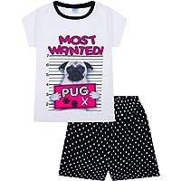 Pijama corto para niña de 9 a 16 años