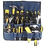 FASITE PT-N018 MultiPatternal Adjustable Hanging Bag Tool Organizer, Blue